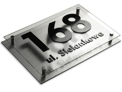 Табличка адресная табличка на дом Алюминий ЦВЕТА