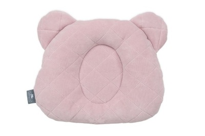подушка с углублением на голову розовая SLEEPEE