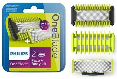 Ostrza Philips Zestaw Face + Body QP620/50