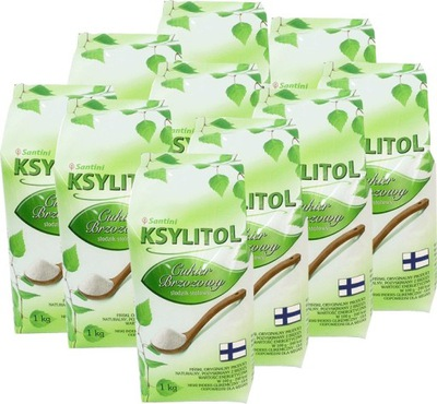 Ксилит, сахар березовый - пакет 16 *1кг -Сантини