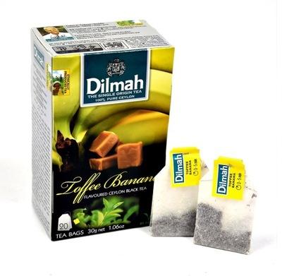 чай Dilmah Ириска & Banana 20 сумок