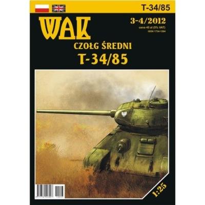 WAK 3-4/12 Czołg średni T-34/85 1:25