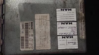 БЛОК УПРАВЛЕНИЯ EDC MS5 MAN L / M / F2000- PROGRAMOWANIA