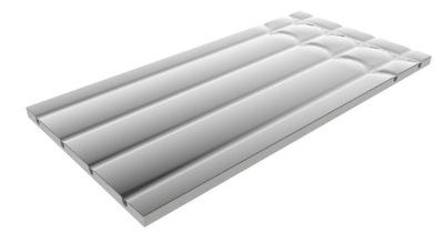 Sucha zabudowa podłogówki 2,5 cm EPS 300 płyta MOC
