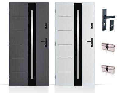 двери Внешние 72мм ПЕНА настежь. termoxps 80 /90