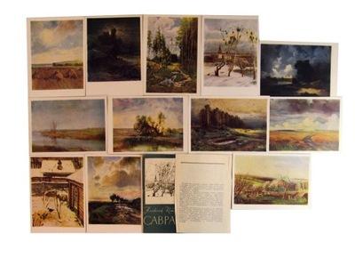 Открытки открытки Пейзажи Savrasov № 166