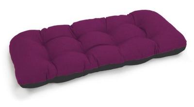 подушка на скамейку садовую качели 100х50 фуксия