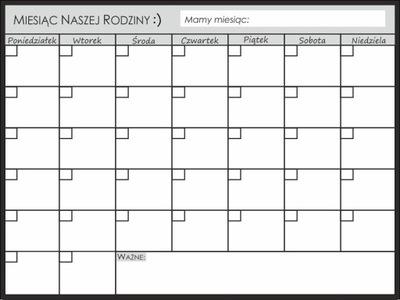 Plánovač, Kalendár Rady Magnetických pre chladničky