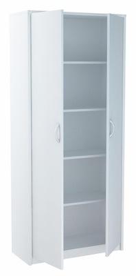 Стеллаж офисный шкаф шкаф для книг R5 Белый
