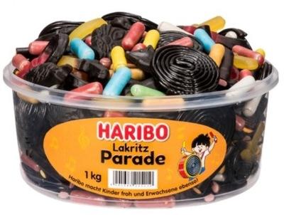 Haribo Lakritz Парад Lukrecjowe 1 кг из Германии