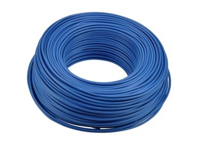 Kábel,KAŽDÝ drôt 1x1,5 modré 100 MB H07V-U 3713