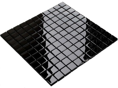 Мозаика стекло черная 804 Ванная комната , Кухня ,
