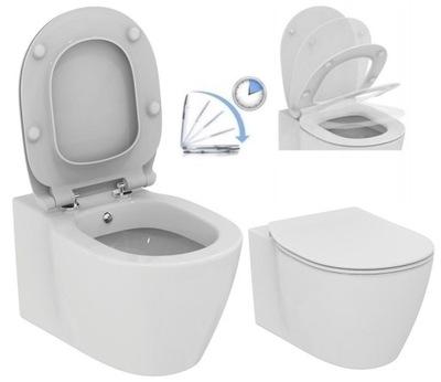 Nemecký WC a BIDET +SEDADLO WOLNOOP