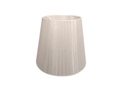 современный абажур абажур бежевый органза 14x21x19 см