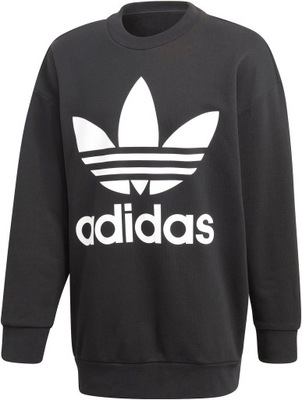 Bluza męska z kapturem Trefoil Oversize Crew Adidas