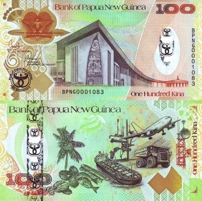 # ПАПУА-Н. ГВИНЕЯ - 100 КИНО - 2008 - Р-37 - UNC