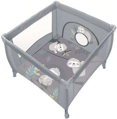 Baby Design Play UP манеж с ручками   светло-Серый