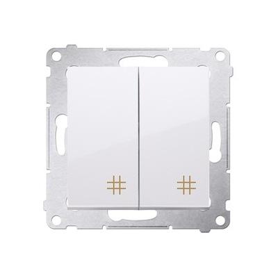 SIMON, 54 Konektor dvojitý kríž DW7/2.01/11