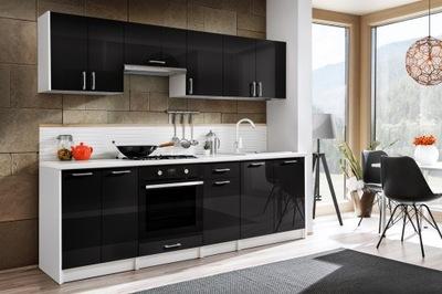 Мебель Кухонные Макс 2 ,4 ? - Черный блеск