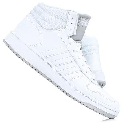 Wysokie białe buty męskie adidas Niska cena na Allegro.pl