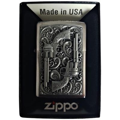 Zapalniczka ZIPPO Revolver Emblem