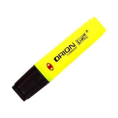 Zakreślacz podkreślacz Orion Kamet żółty
