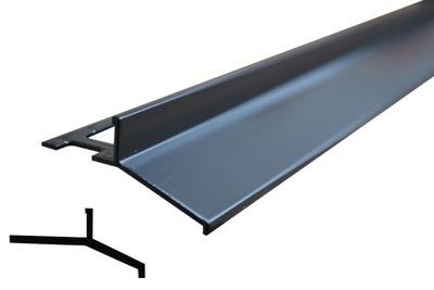 PROFIL balcanico, dif-priehľadný kryt ANTRACIT grafit
