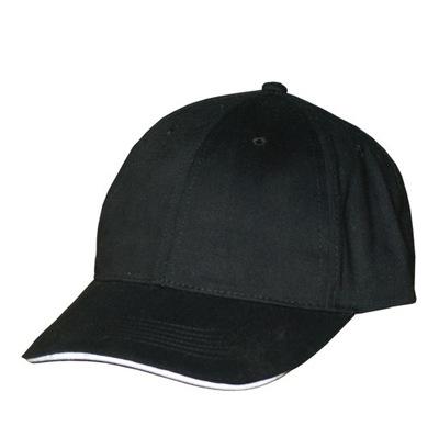 Świetna Czapka z daszkiem Bejsbolówka Czarna