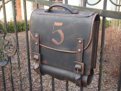коробка письма ящик с номером кованая