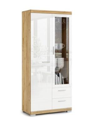 Комод Simple KWD2SZ2 - витрина СТЕЛЛАЖ шкаф блеск