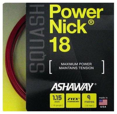 NACIĄG DO SQUASHA ASHAWAY POWERNICK RD 1,15mm 9m