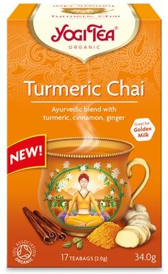 Чай  Чай Куркума Чай (17x1,8 )Yogi Tea