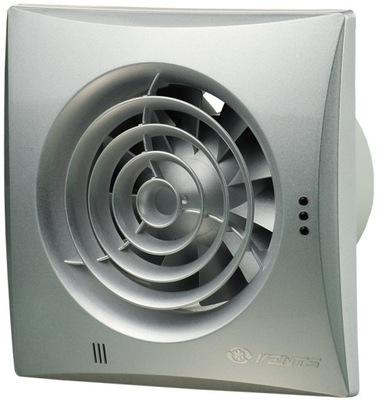 Ventilátor kúpeľňa OTVORY POKOJNEJ 100 25 dB SATIN