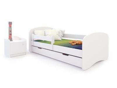 КРОВАТКА кровать 160x80 Матрас - белое BooBoo
