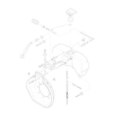 HATZ 00805502 обратный клапан топлива 1D41 1D42 1D81