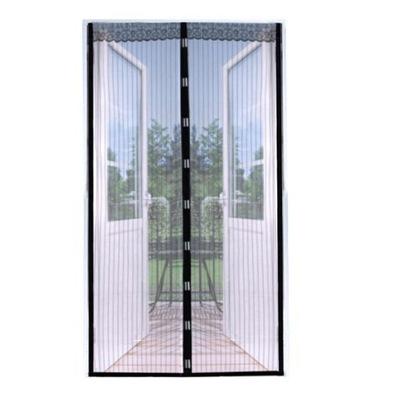 Москитная сетка НА двери полоски черные 100X220 MAGNETYCZ