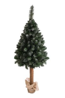 Vianočné stromčeky - umelý Strom na kmeň BOROVICE DIAMOND 1.6 M