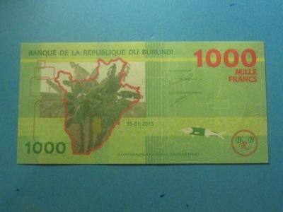 Бурунди Банкнота 1000 Francs 2015 UNC P-Instagram один