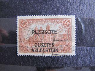 Электронной plebiscytowe Olsztyn FI 12 B с Gw.