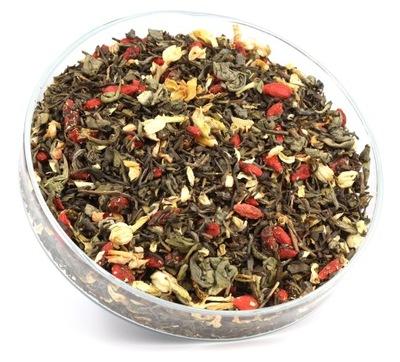 чай зеленый ЮНЬНАНЬ + ГОЯ + ЖАСМИН ВКУСНЫЙ 50г