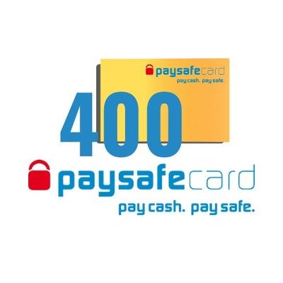 PaySafeCard 400 zł (200 + 200)