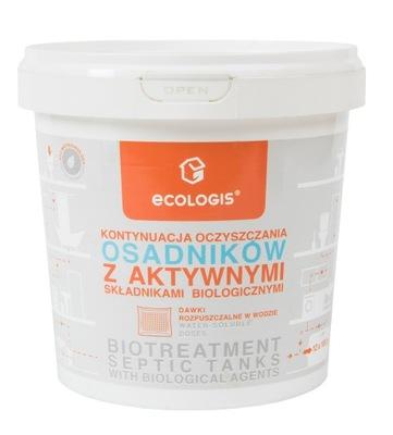 Ecologis Baktérie pre usadzovacích nádrží čistiarní odpadových vôd 12 saszet