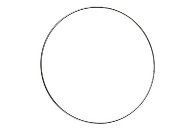 Обруч, Круг для ловец снов, кольцо 20cm серебряный