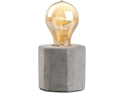 Dekoratívne stolové svietidlo s lampou typu vintage