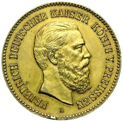 + Медаль Пруссия 1888 Фридрих III - ШКОЛЬНЫЙ - ЛАУЭР