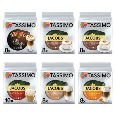 капсулы Tassimo ДЖЕЙКОБС и Baileys, 56 кофе, белые