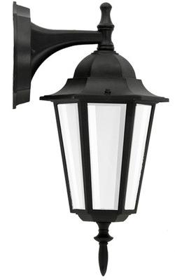 Бра садовый Светильник Фасадный 37cm Черный E27