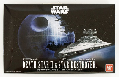 Death Star & Star Destroyer Bandai Звездные Войны