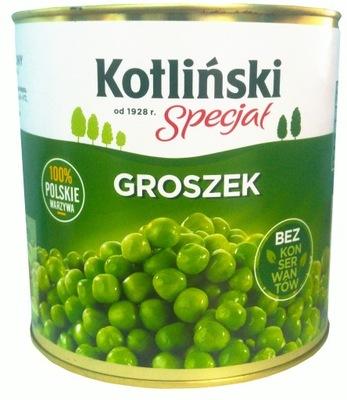 зеленый Горошек консервированный 2500g 2 ,5кг