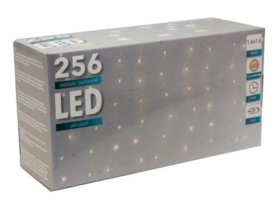 LED 256 LED ZÁVES TERASA 160 CM X 160 CM WEBOVÉ STRÁNKY